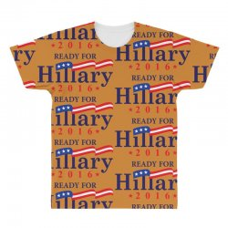 Ready For Hillary 2016 All Over Men's T-shirt | Artistshot