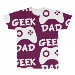 geek dad All Over Men's T-shirt | Artistshot