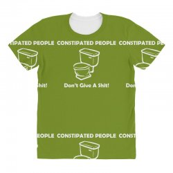 constipated people All Over Women's T-shirt | Artistshot