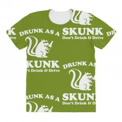 drunk as a skunk All Over Women's T-shirt | Artistshot