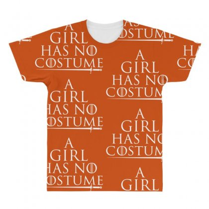 A Girl Has No Costume All Over Men's T-shirt Designed By Vr46