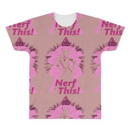 Nerf This Awesome All Over Men's T-shirt Designed By Vr46
