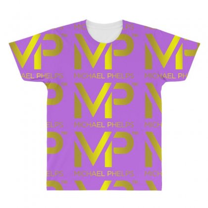 Michael Phelps All Over Men's T-shirt Designed By Vr46