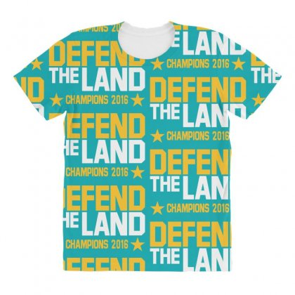 Cleveland Cavaliers All Over Women's T-shirt Designed By Vr46