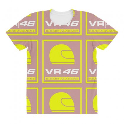 Vr46 Riders Academy All Over Women's T-shirt Designed By Vr46
