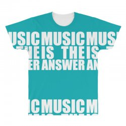 music is the answer All Over Men's T-shirt | Artistshot
