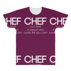definition of a chef All Over Men s T-shirt · definition of a chef Men s 3 4  Sleeve Pajama Set ... 824ccc710