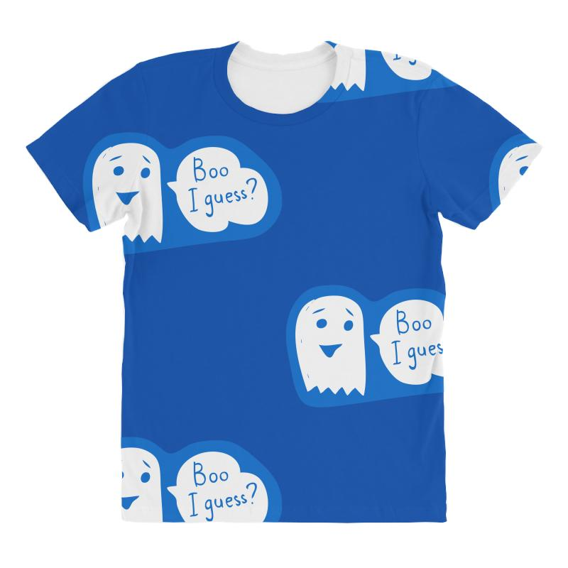 633534914355 Custom Boo I Guess All Over Women's T-shirt By Specstore - Artistshot