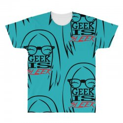 Geek is Sleek All Over Men's T-shirt | Artistshot