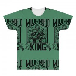 Wild World King All Over Men's T-shirt | Artistshot