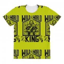 Wild World King All Over Women's T-shirt | Artistshot