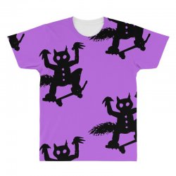 wild thing on a skateboard All Over Men's T-shirt | Artistshot
