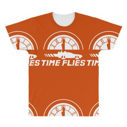 Time Flies All Over Men's T-shirt Designed By Specstore