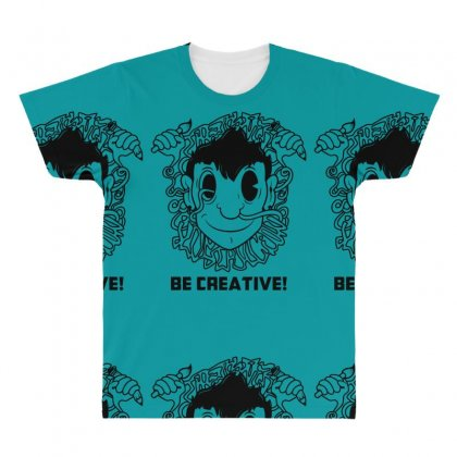 Be Creative All Over Men's T-shirt Designed By Specstore