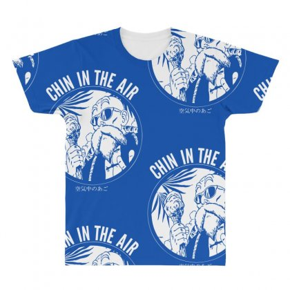 Chin In The Air All Over Men's T-shirt Designed By Specstore