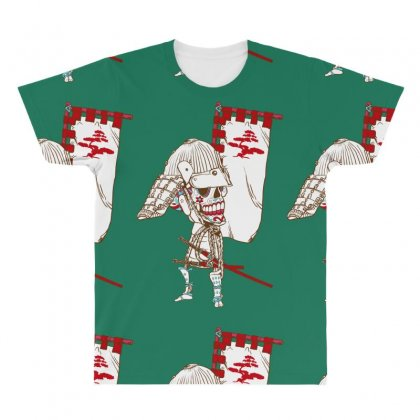 Dead Sugar Samurai All Over Men's T-shirt Designed By Specstore