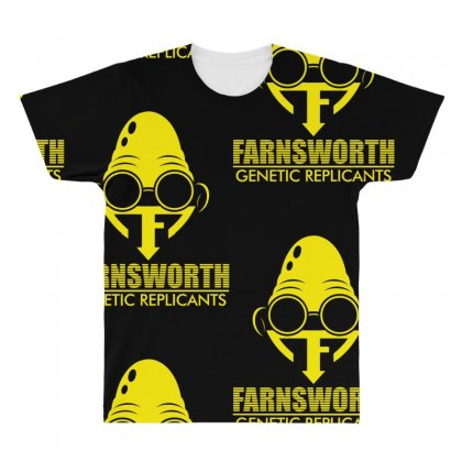 Farnsworth Genetic Replicants All Over Men's T-shirt Designed By Specstore
