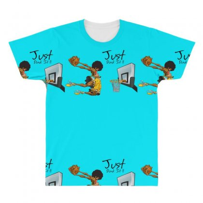 Just Dunk It All Over Men's T-shirt Designed By Specstore