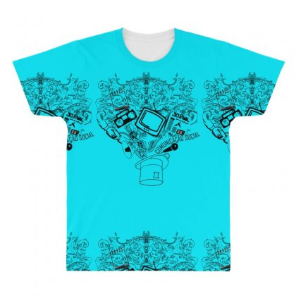 Magic Hat Of Social All Over Men's T-shirt Designed By Specstore