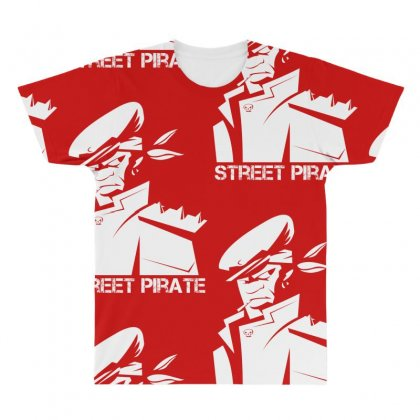 Street Pirate All Over Men's T-shirt Designed By Specstore