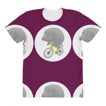 Dont Forget The Helmet All Over Women's T-shirt Designed By Specstore