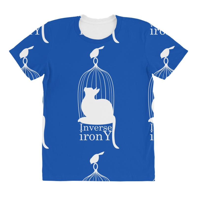 Inverse Irony All Over Women's T-shirt | Artistshot