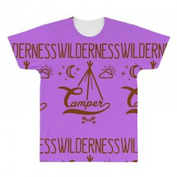 wilderness camper All Over Men's T-shirt | Artistshot