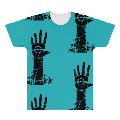 The Unperson Hand All Over Men's T-shirt Designed By Specstore
