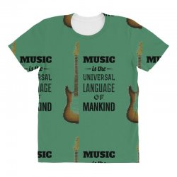 music quotes All Over Women's T-shirt | Artistshot