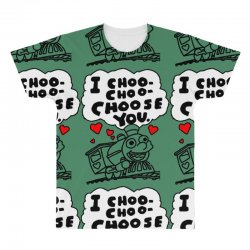 i choo choo choose you All Over Men's T-shirt | Artistshot