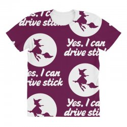 yes, i can drive stick All Over Women's T-shirt | Artistshot