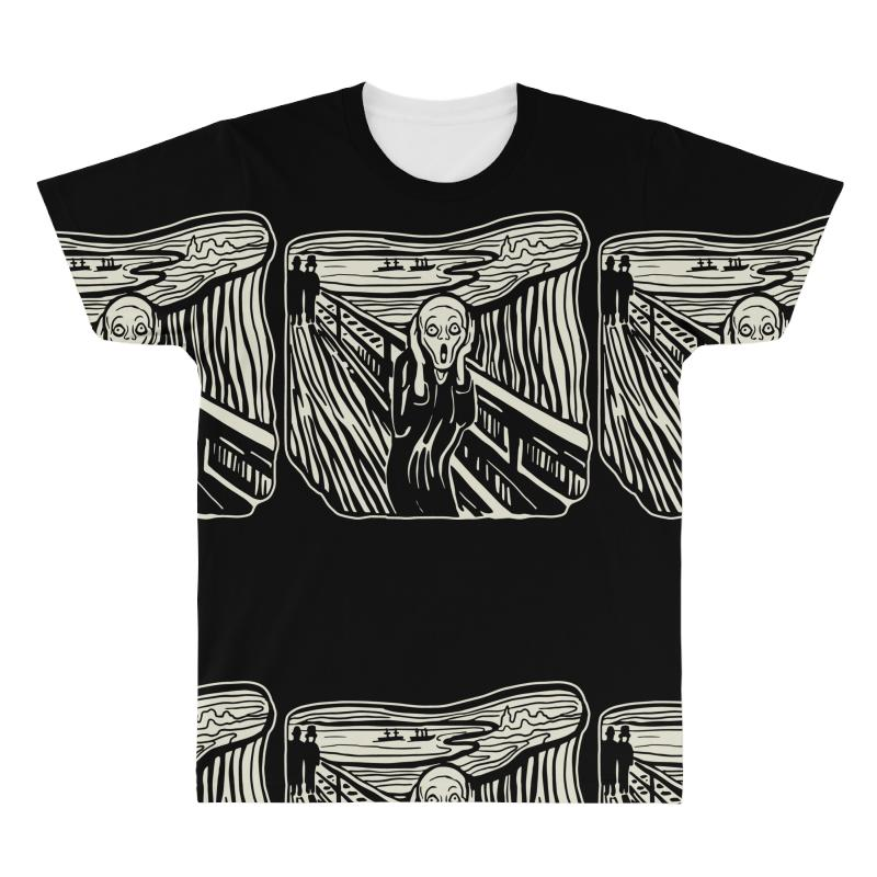 The Scream All Over Men's T-shirt | Artistshot