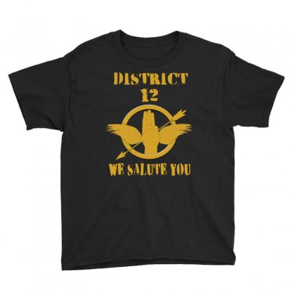 District 12 We Salute You Youth Tee Designed By Love Shiga