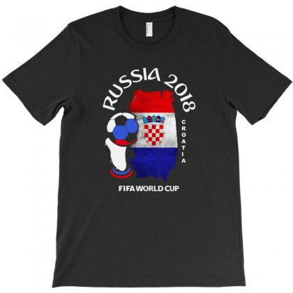 Croatia National Team Youth 2018 Fifa World Cup T-shirt Designed By Aheupote