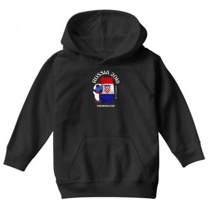 Croatia National Team Youth 2018 Fifa World Cup Youth Hoodie