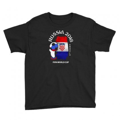 Croatia National Team Youth 2018 Fifa World Cup Youth Tee Designed By Aheupote