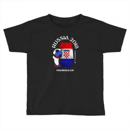 Croatia National Team Youth 2018 Fifa World Cup Toddler T-shirt Designed By Aheupote