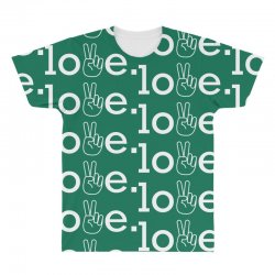 Love All Over Men's T-shirt | Artistshot
