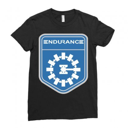 Endurance Space Exploration Ladies Fitted T-shirt Designed By Sbm052017