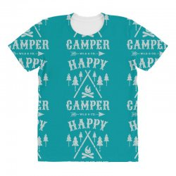 happy camping All Over Women's T-shirt | Artistshot