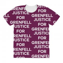 Justice For Grenfell All Over Women's T-shirt | Artistshot