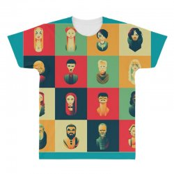 family of thrones All Over Men's T-shirt | Artistshot