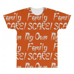 i scare my own family All Over Men's T-shirt | Artistshot