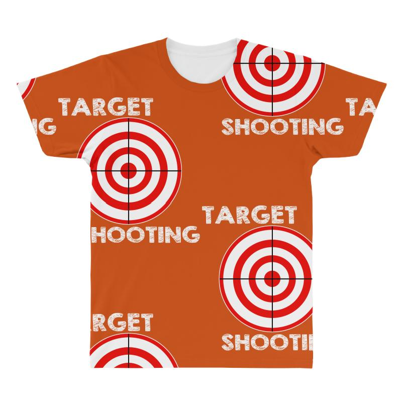 423679677f Custom Target Shooting All Over Men s T-shirt By Mdk Art - Artistshot