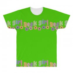 geek girl daisies All Over Men's T-shirt | Artistshot
