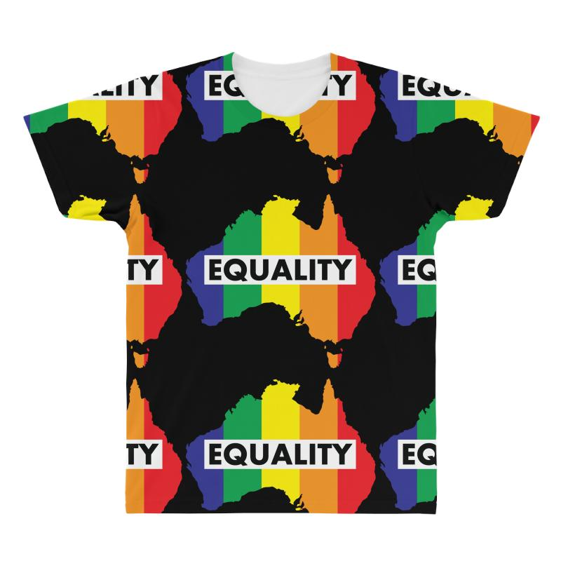 Vote Yes-australia Marriage Equality All Over Men's T-shirt | Artistshot