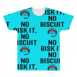 no risk it, no biscuit All Over Men's T-shirt | Artistshot