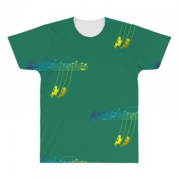 music swing All Over Men's T-shirt | Artistshot