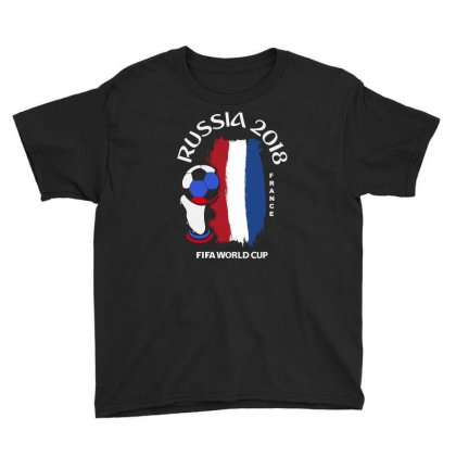France National Team Youth 2018 Fifa World Cup Youth Tee Designed By Aheupote