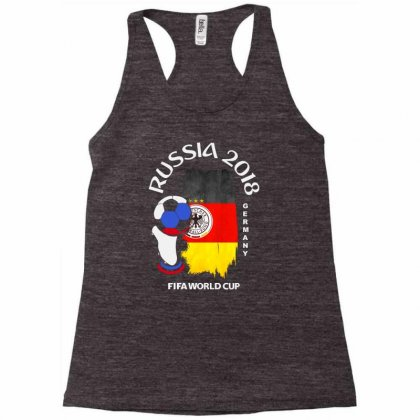 Germany National Team Youth 2018 Fifa World Cup Racerback Tank Designed By Aheupote
